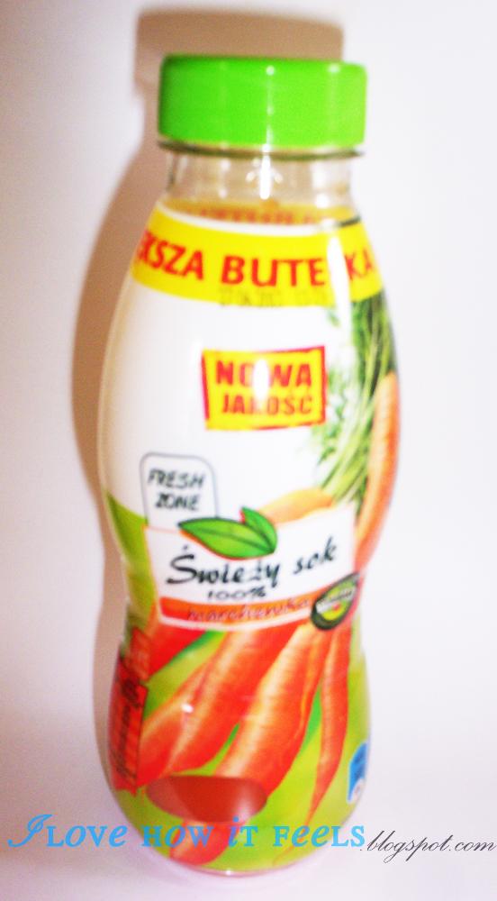 Marchew na zdrowie! & Biedronkowy świeży sok