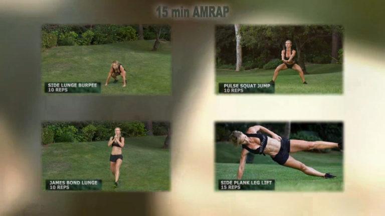 ZWOW #33 AMRAP – Sexy Spy Workout