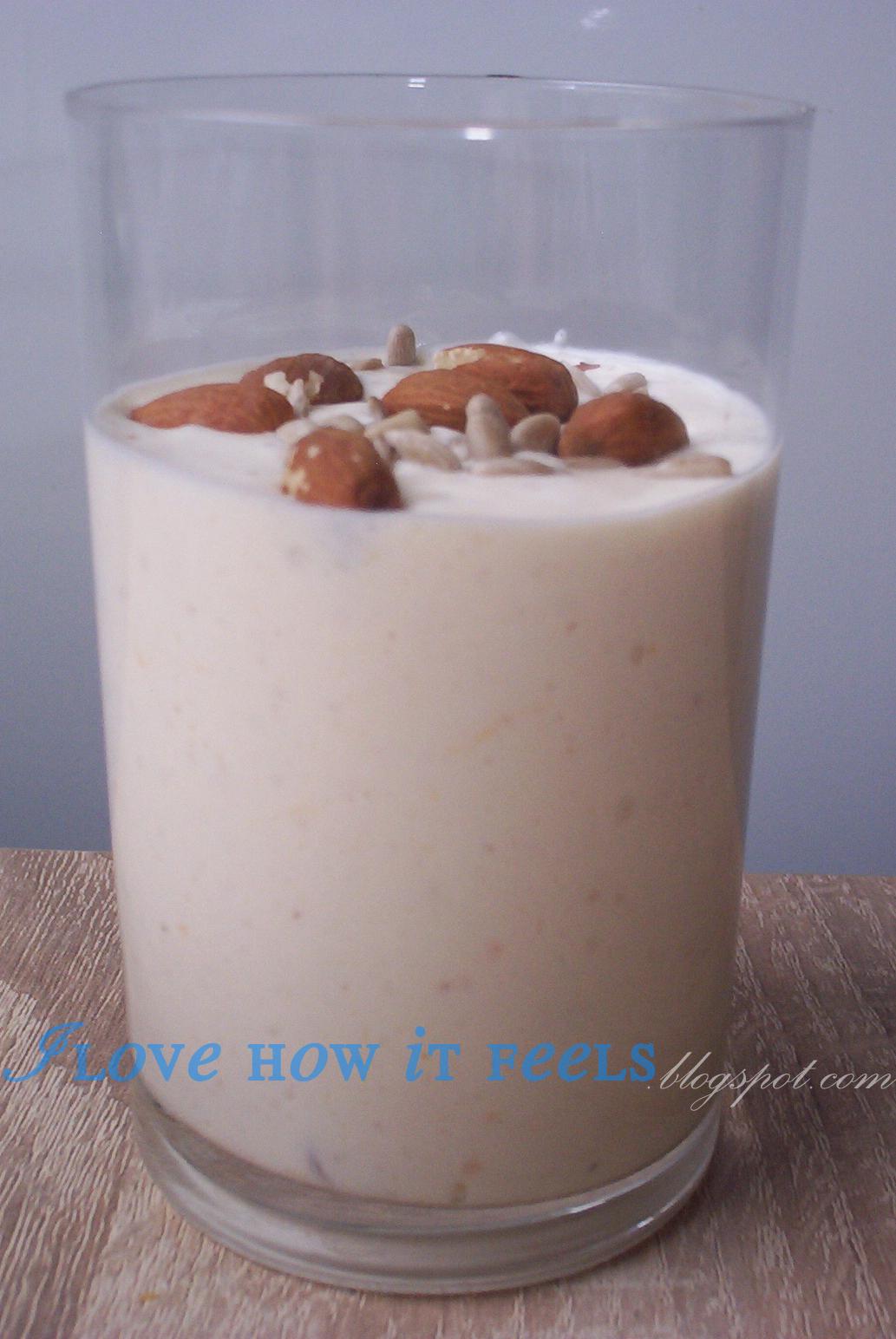 Białkowy desero-sernik w szklance