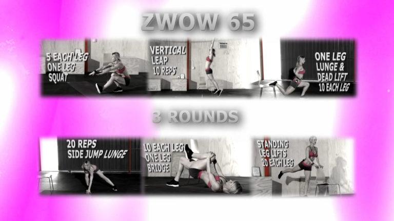 ZWOW #65 Time Challenge – Best Bodyweight Butt Workout