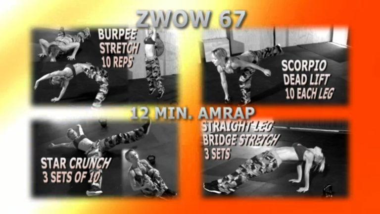 ZWOW #67 AMRAP – Scorpio Workout