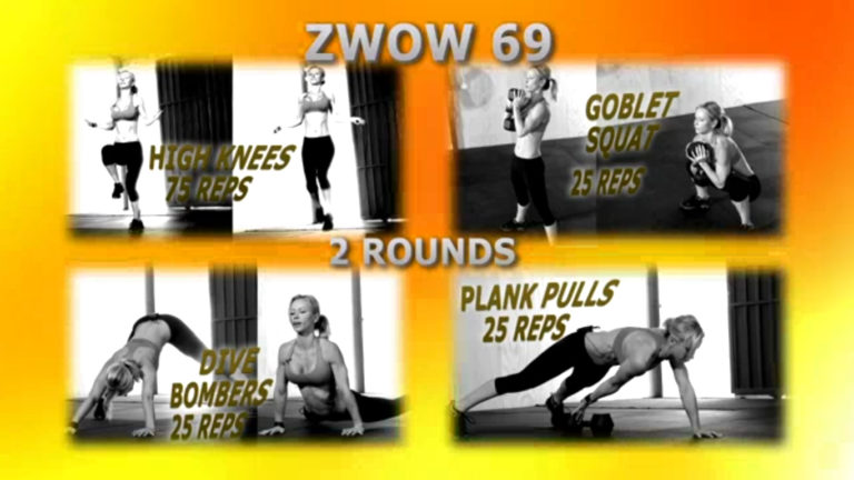 ZWOW #69 Time Challenge – The Ultimate ABS and Cardio Workout