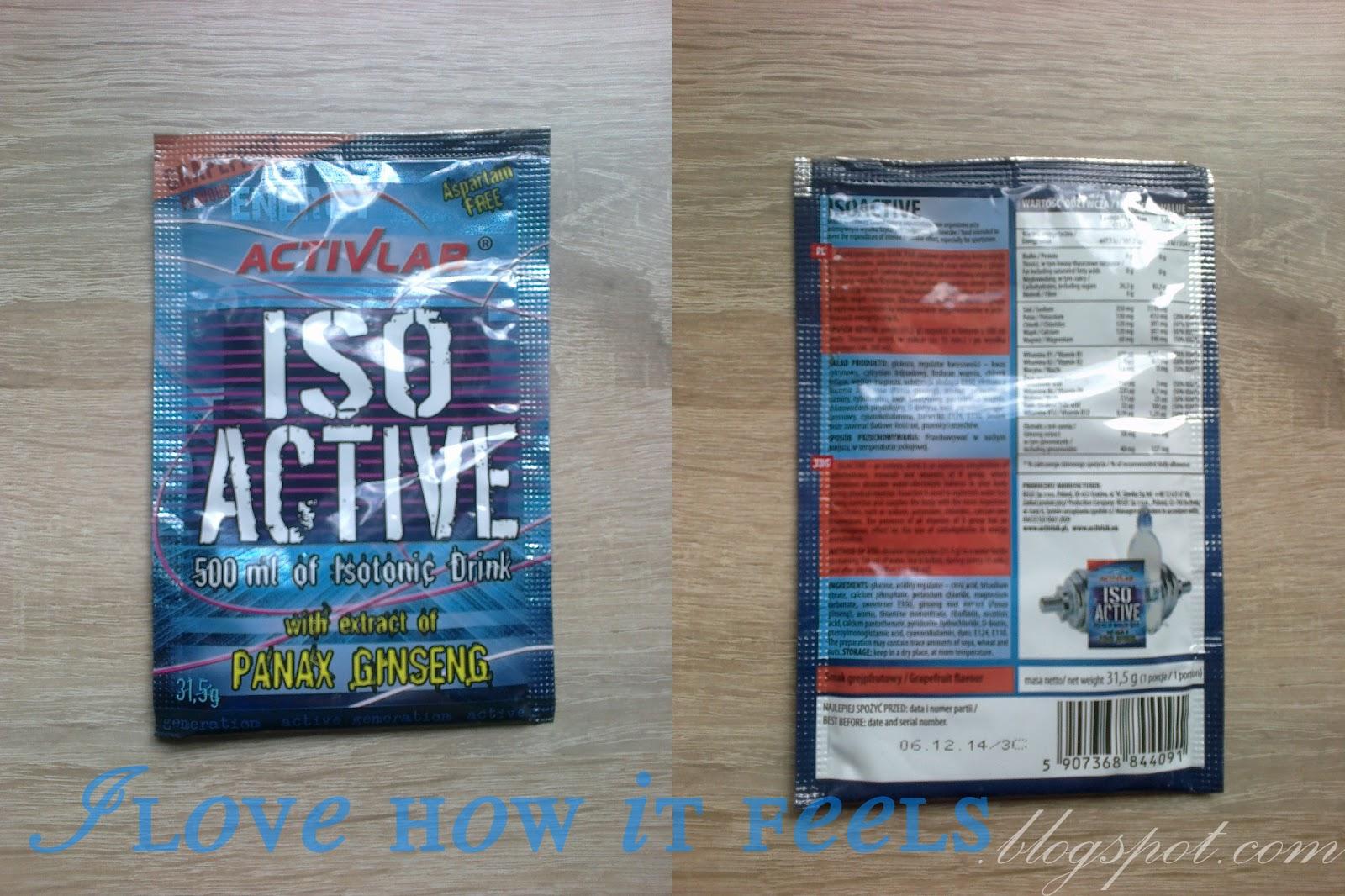 IsoActive – moja opinia