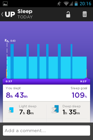 Jawbone UP – moja opinia