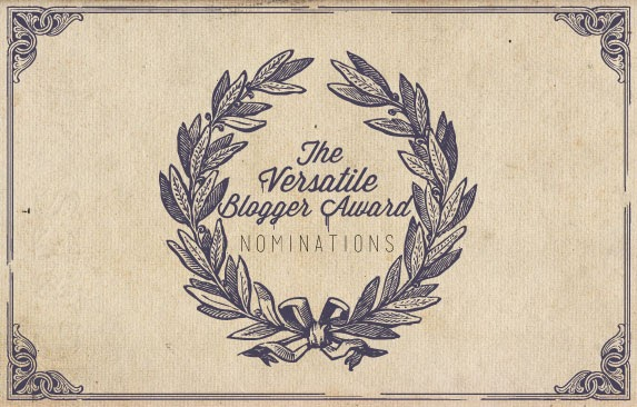 The Versatile Blogger Award vol. 3