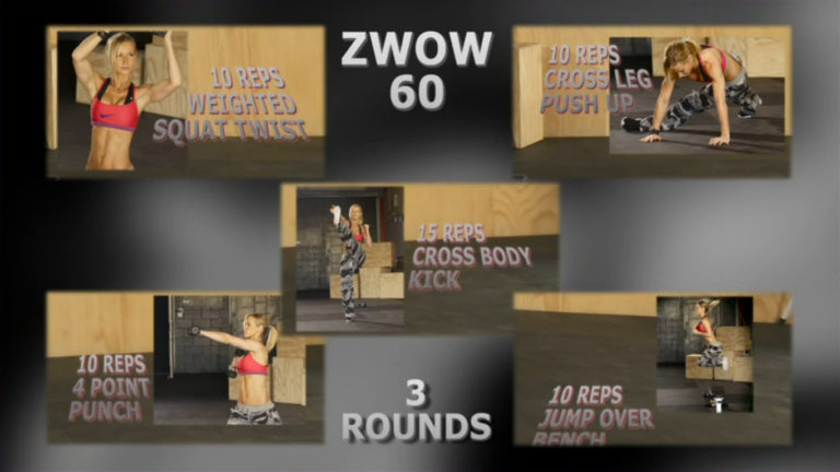 ZWOW #60 Time Challenge – ABS and full body workout