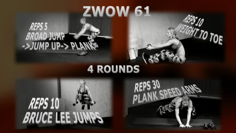 ZWOW #61 Time Challenge – Bruce Lee AB Workout