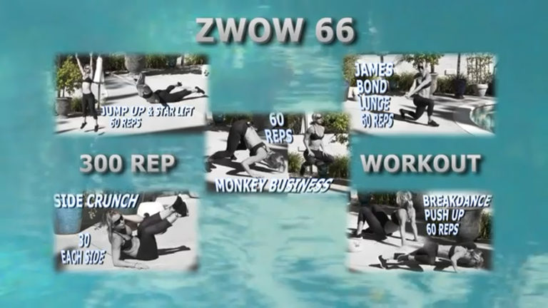 ZWOW #66 Time Challenge – 300 Rep Workout