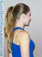 Treningowe fryzury