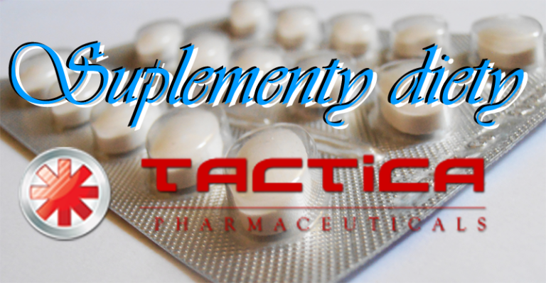 Suplementy diety Tactica Pharmaceuticals