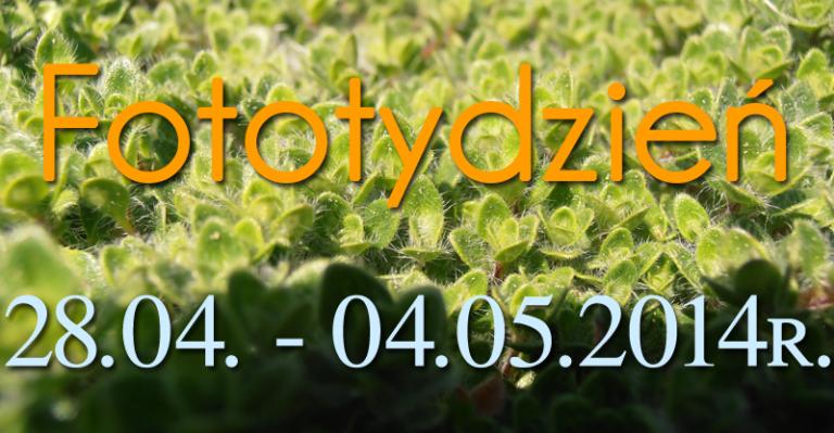 Fototydzień 28.04. – 04.05.2014r.