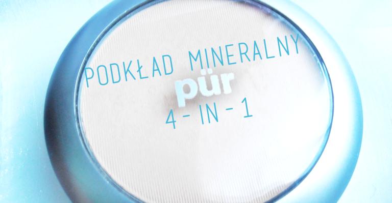 Podkład mineralny Pür 4-in-1
