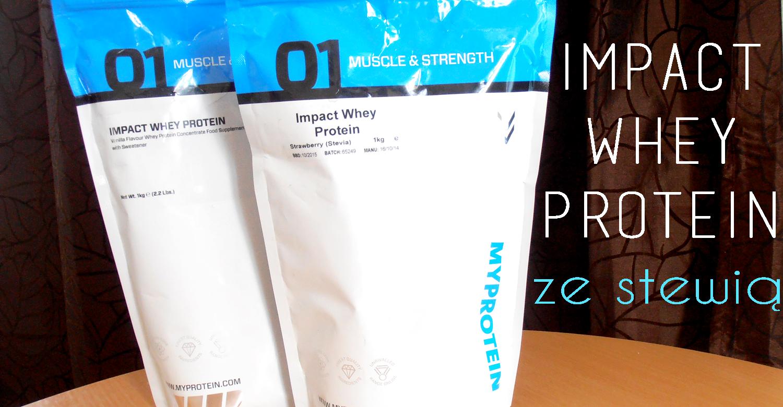 Impact Whey Protein ze stewią
