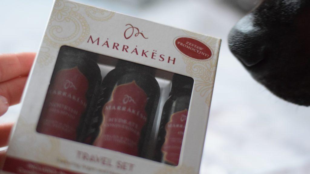Zestaw kosmetyków do włosów Marrakesh