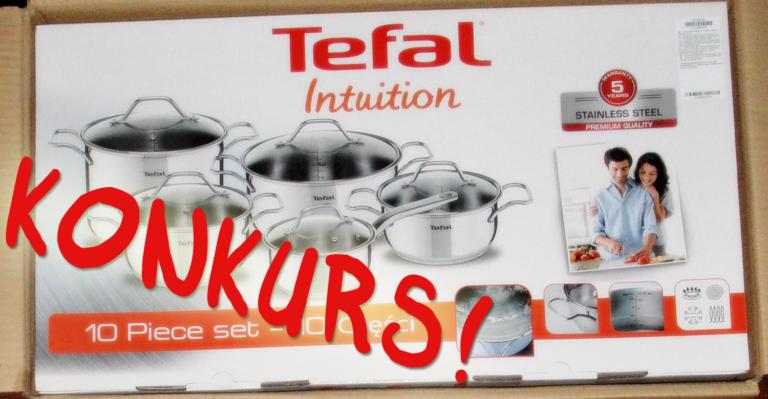 Konkurs! Do wygrania zestaw Tefal Intuition