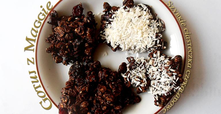 Gotuj z Maggie: Szybkie ciasteczka czekoladowe