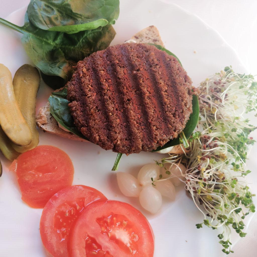 Wegański burger Dobra Kaloria